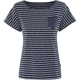 Jack Wolfskin Travel Striped T-Shirt Women midnightblue stripes
